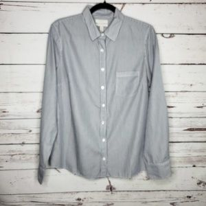 5/$30 J. Crew Factory 'Boy' Long Sleeve Top